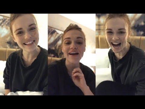 Holland Roden  Instagram Live Stream  24 September 2017 TeenWolfFINALE