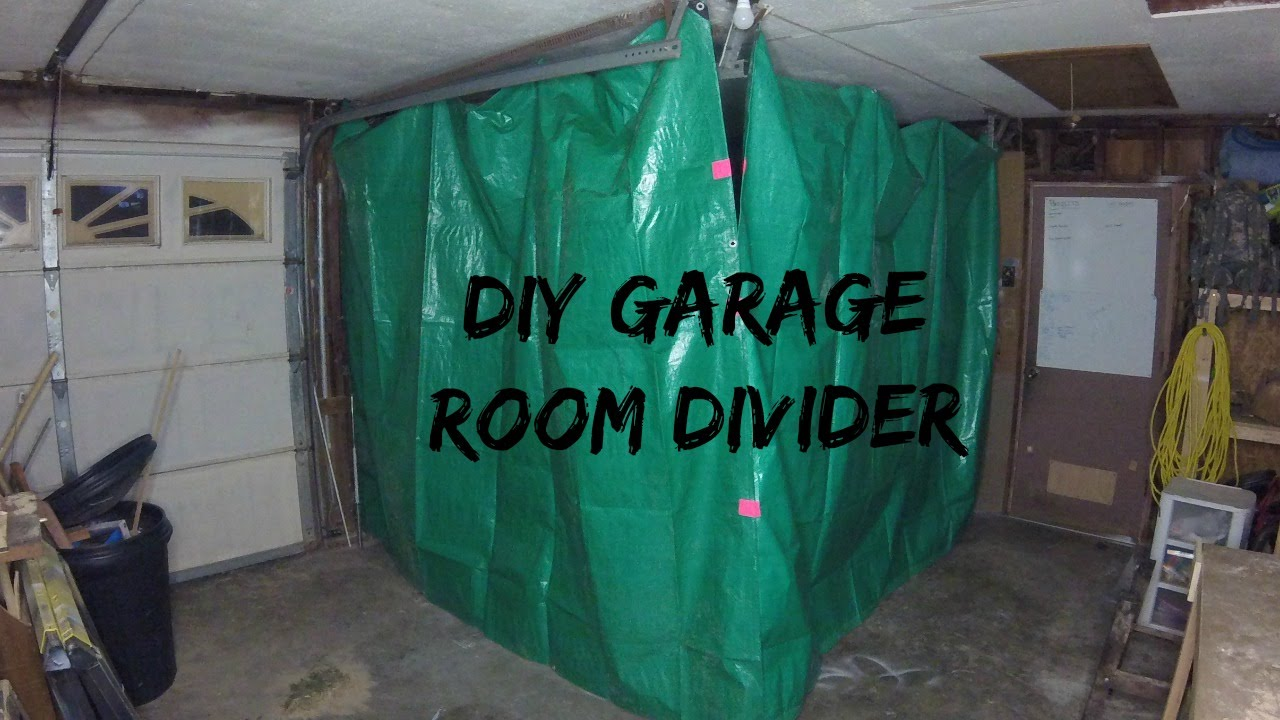 Jwf Diy Garage Divider Youtube