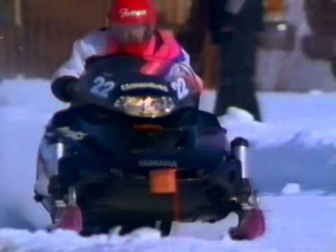 1993 vmax Yamaha snowmobile promo video