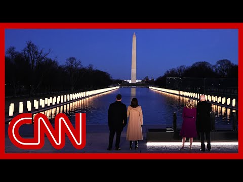 Biden grieves Covid-19 victims on eve of his inauguration