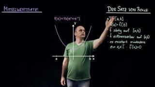 MITTELWERTSATZ DER DIFFERENTIALRECHNUNG   Mathematik   Funktionen