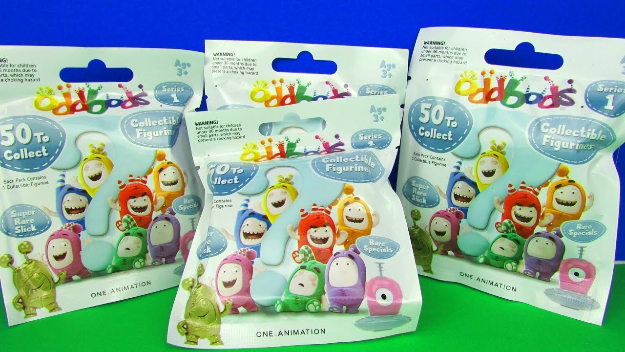 58737e54d2e Oddbods Blind Bags Kids Surprises Opening plus Rare Specials Find!!! -  YouTube