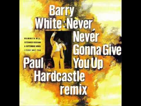 Barry White - Never gonna give you up (P. Hardcastle Remix)