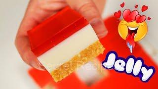 Желейный торт без выпечки | Jello cake