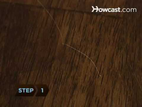 How To Remove Furniture Scratches With A Walnut Youtube