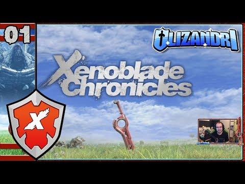 Xenoblade Chronicles - Battle Of Sword Valley, Colony 9, Shulk's Studies - Episode 1