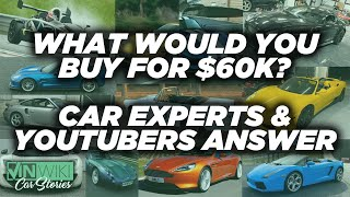 What's the best sports car you can buy for $60k?