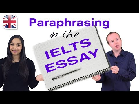 IELTS Essay - How to Write an Introduction (Using Paraphrasing)
