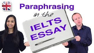 IELTS Essay - How to Improve IELTS Task 2 With Paraphrasing
