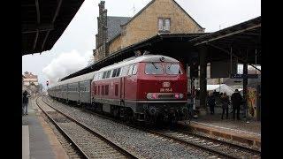 Ein u. - Ausfahrt Ludmilla u.  78 468 Bhf  Quedlinburg 16 12 2018