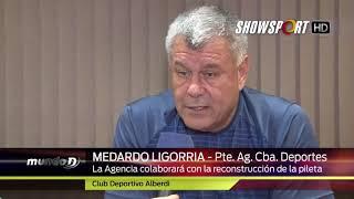 AGENCIA CBA DEPORTES  Ligorria sobre Pileta