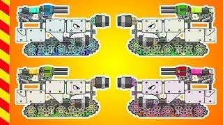 Машинки танки все серии подряд 20 МИН Чиним танки Мастерская танков машинки детям Машины мультик