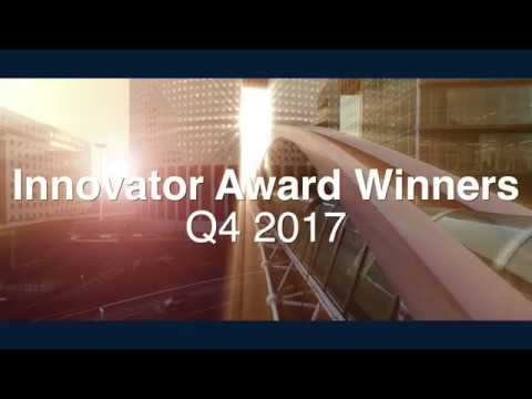 Q4 2017 IBM Analytics Global Elite Innovators Award Winners
