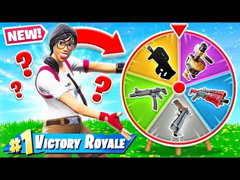RANDOM WHEEL of GUNS *NEW* Creative Game Mode in Fortnite Battle Royale