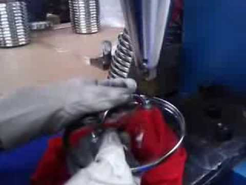 cookware handle riveting