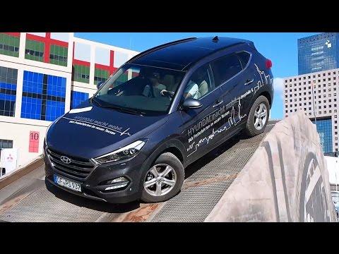 2016 Hyundai Tucson 4x4 Offroad Demo Run