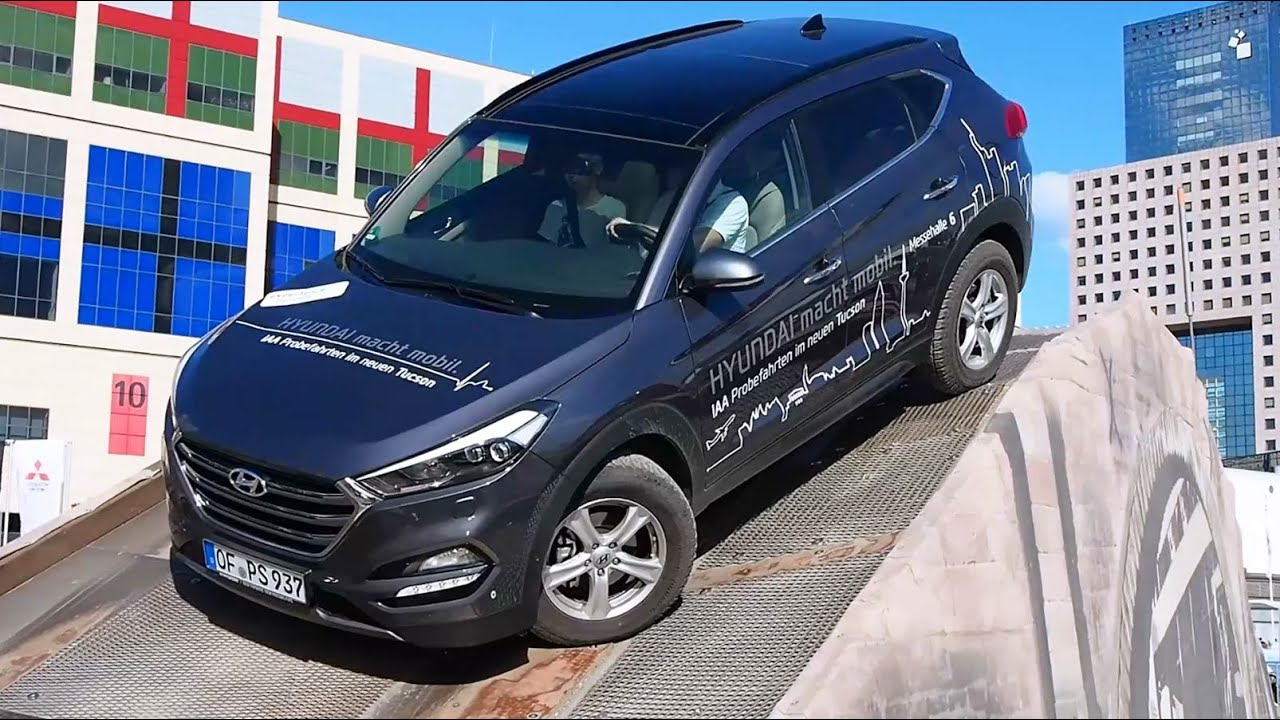 2016 hyundai tucson 4x4 offroad demo run youtube. Black Bedroom Furniture Sets. Home Design Ideas