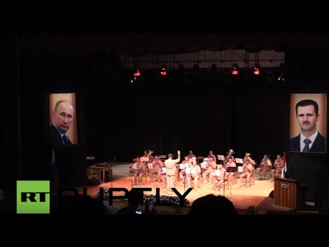 Syria: Russian military distributes aid following Latakia concert