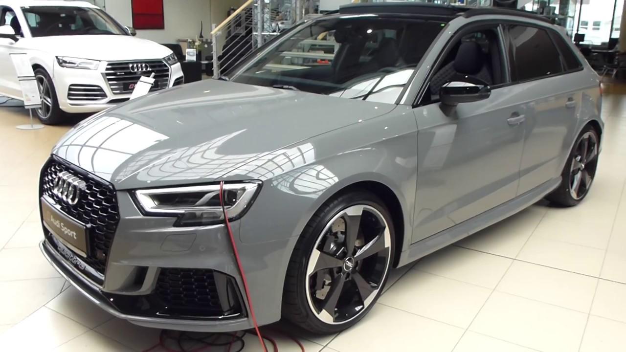 2017 Audi Rs3 Exterior Amp Interior 2 5 R5 400 Hp 280 Km H