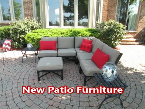 New Patio Furniture Outdoor Living Space Decor Youtube