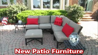 New Patio Furniture Outdoor Living Space Decor