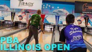 PBA Illinois Open | PBA Bowlers Are FRIED!