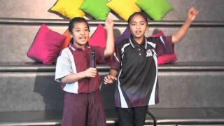 Mabel Park State School singing I am Australian