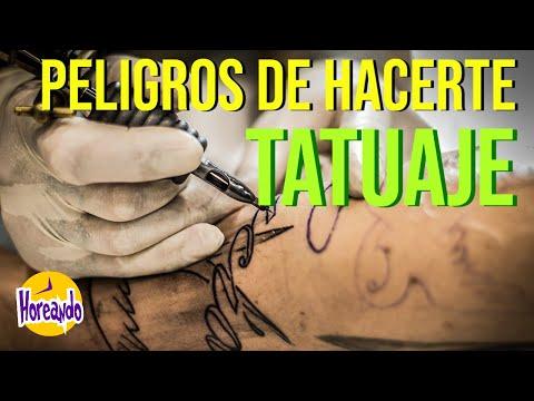 Peligros De Hacerte Un Tatuaje