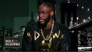 Deontay Wilder on bad intentions vs. Dominic Breazeale: 'I will disfigure him' | Max on Boxing