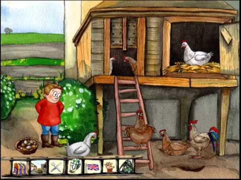 Lets Play Oscar der Ballonfahrer entdeckt den Bauernhof Part 3 Fail im Hühnerreich