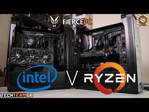 Fierce PC Ultimate Showdown: AMD Ryzen 1700 vs Intel 7700K