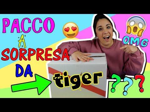 Download Youtube: PACCO GIGANTE A SORPRESA DA TIGER! COSA CI SARA'? Iolanda Sweets