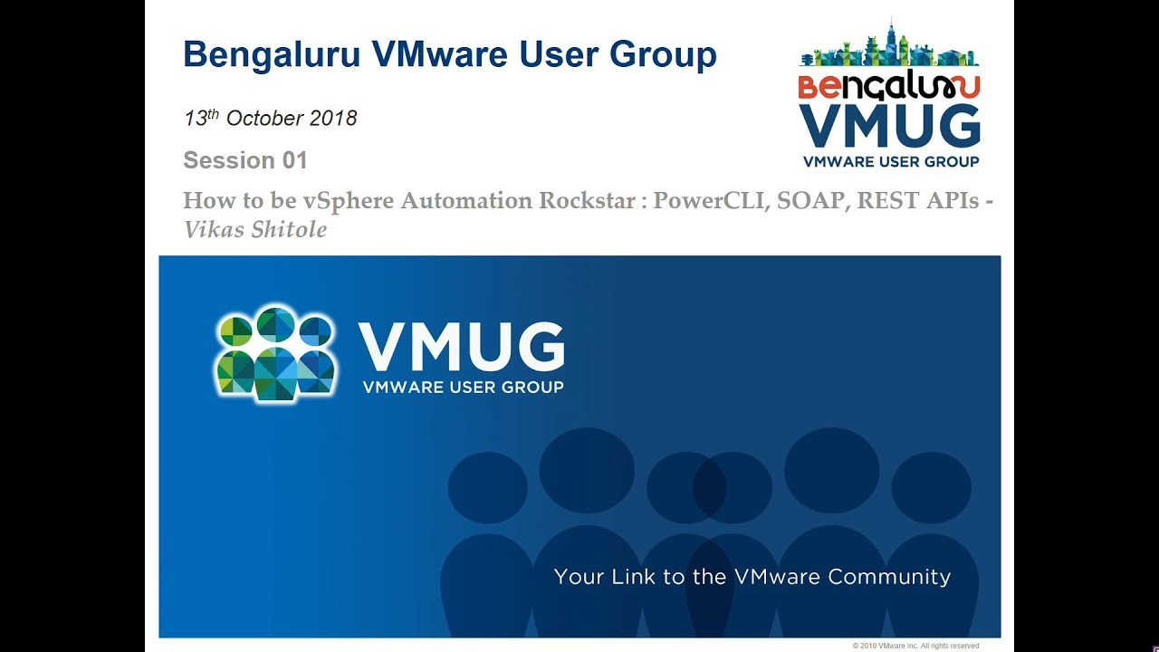 How to be vSphere Automation Rockstar: PowerCLI, SOAP and