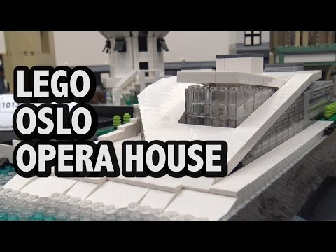 LEGO Oslo Opera House Norway | BrickCon 2016