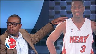Paul Pierce defends his comments that his NBA career is better than Dwyane Wade's | After the Buzzer