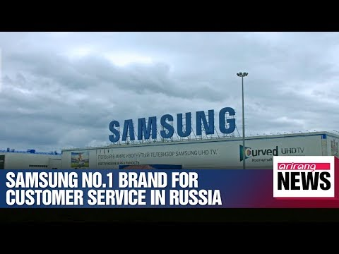 Samsung Electronics tops customer satisfaction survey in Russia
