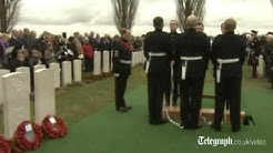 World War I soldiers laid to rest nearly a century after their deaths