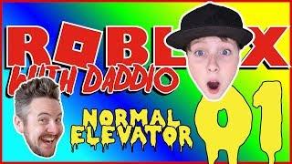 L'ascenseur normal #1 - Daddio says Wha? ROBLOX avec Daddio