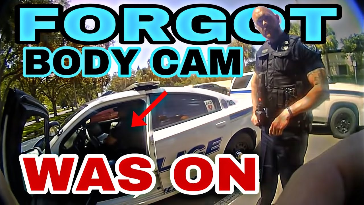 Cop Forgot his body camera was on - Placing Bets calling citizens names