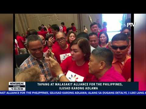 NEWS BREAK: Tapang at Malasakit Alliance for the Philippines, ilusad karong adlawa