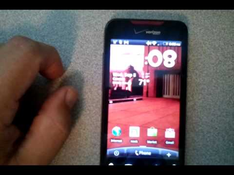 Quick Look At Live Wallpapers From R2d2 Droid 2 Youtube