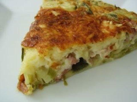 """tarte-aux-poireaux-sans-pâte-""""-recette-facile-"""""""