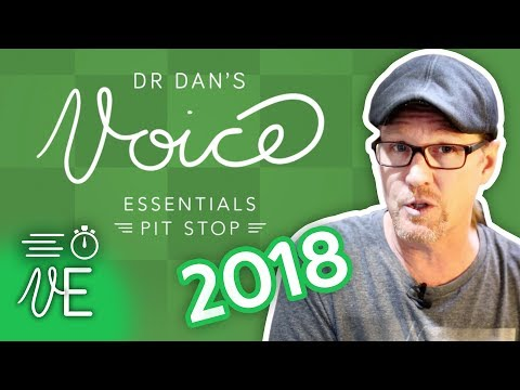 NEW Vocal Pitstop Videos in 2018 | #DrDan ⏱