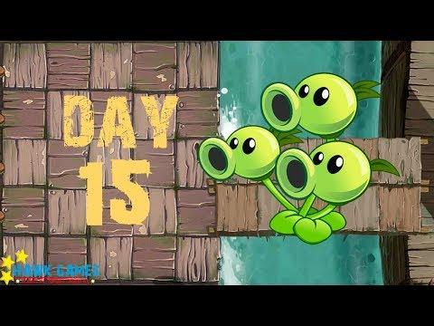 Plants Vs Zombies 2 - Pirate Seas - Day 15 [Threepeater] No Premium