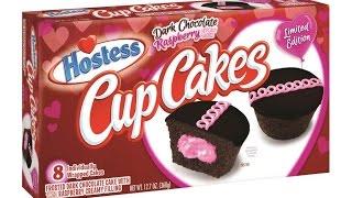 WE Shorts - Hostess Dark Chocolate Raspberry Cupcakes