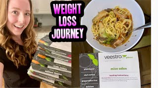 GOING VEGAN & LOSING WEIGHT! | MY FIRST WEEK OF THE VEESTRO WEIGHT LOSS MEAL DELIVERY PROGRAM