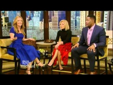Leslie Mann interview Live! With Kelly and Michael 02.05.2016