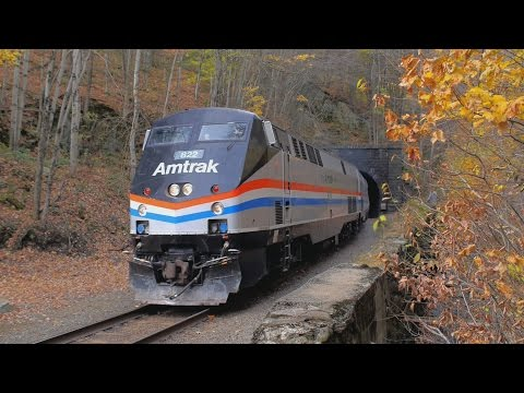 Amtrak Autumn Express Chase Florida, MA - Greenfield, MA