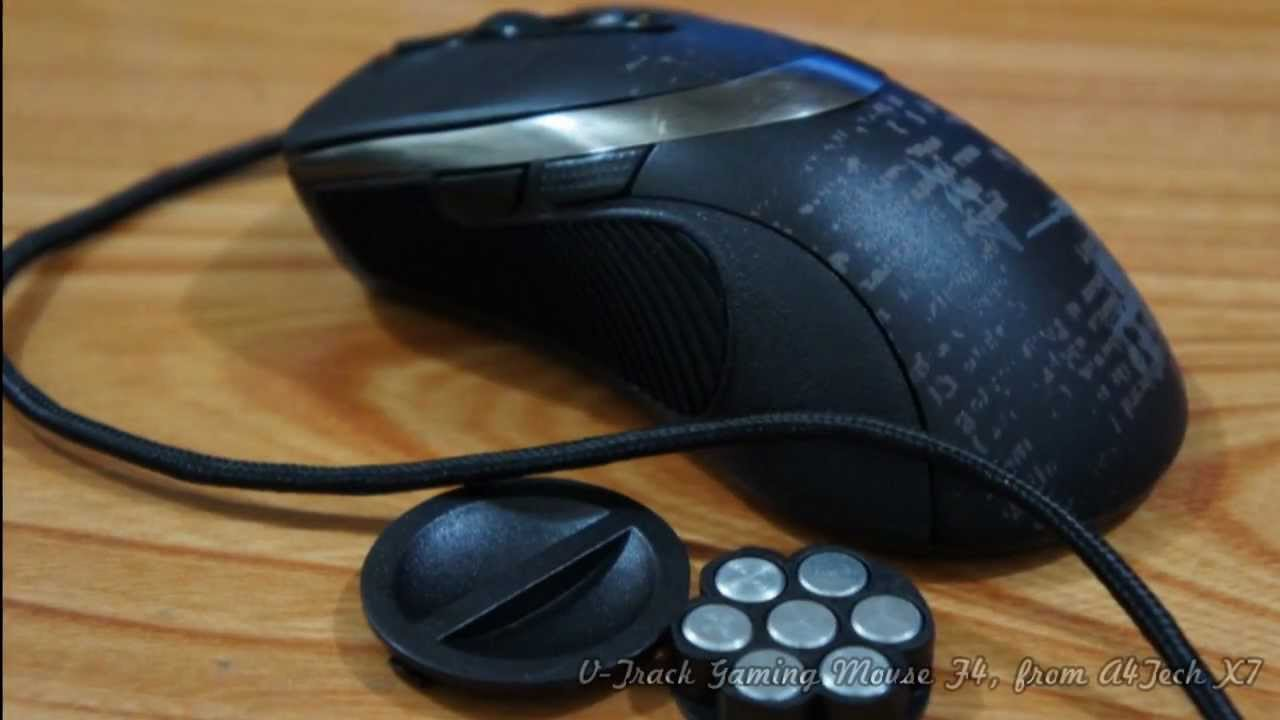 Mouse Gaming Macro A4Tech X7 F4