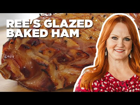 How To Make Ree's Glazed Baked Ham | Food Network